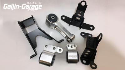 Hasport EG//EK B-Series Billet Block Bracket for 92-00 Civic P30BB 2-Bolt